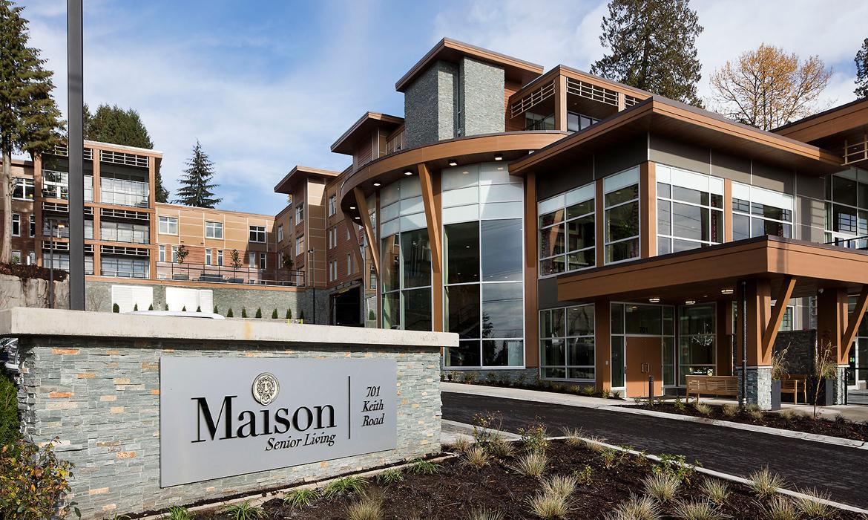 Maison senior living west vancouver milliken for A la maison personal chef service